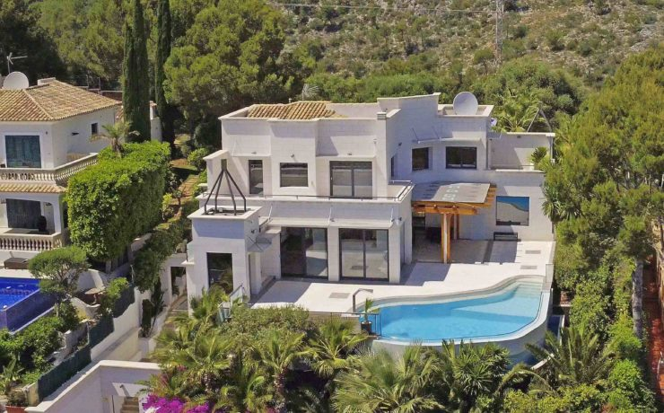 High-Class – Luxus-Meerblickvilla in Bendinat
