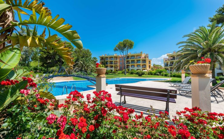 GOLF GARDENS IN SANTA PONSA