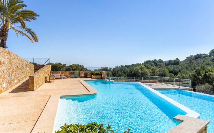 Apartment in Sol de Mallorca mit großem Gartenanteil