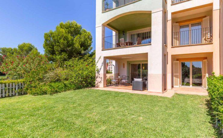 Long term rent: Garden apartment in Santa Ponsa