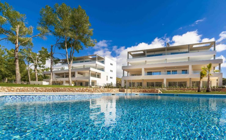Luxury newly built apartments in Santa Ponsa