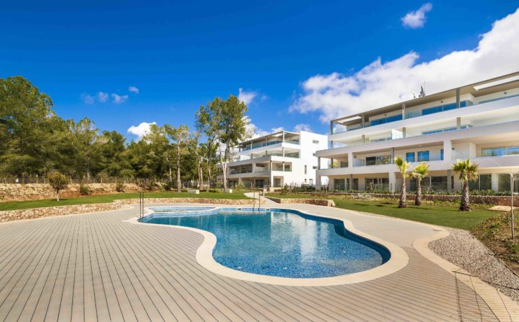 Newly built garden apartment Santa Ponsa – Port Adriano