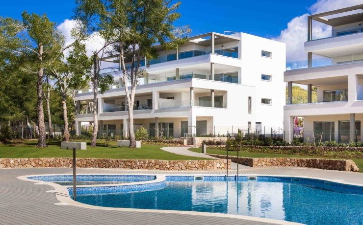 Newly built apartment Santa Ponsa – Port Adriano