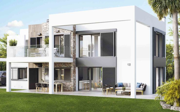 PINARS DE MURADA: Modern style villas Cala Murada