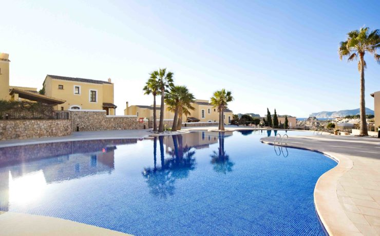 Schönes Haus in Santa Ponsa in Residenz in erster Meereslinie