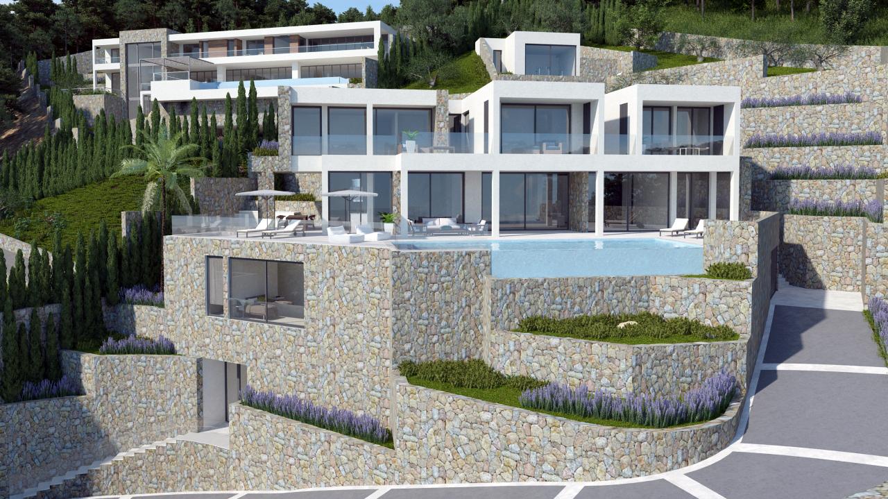 Brand new dream villa in Son Vida with beautiful views   New Home ...