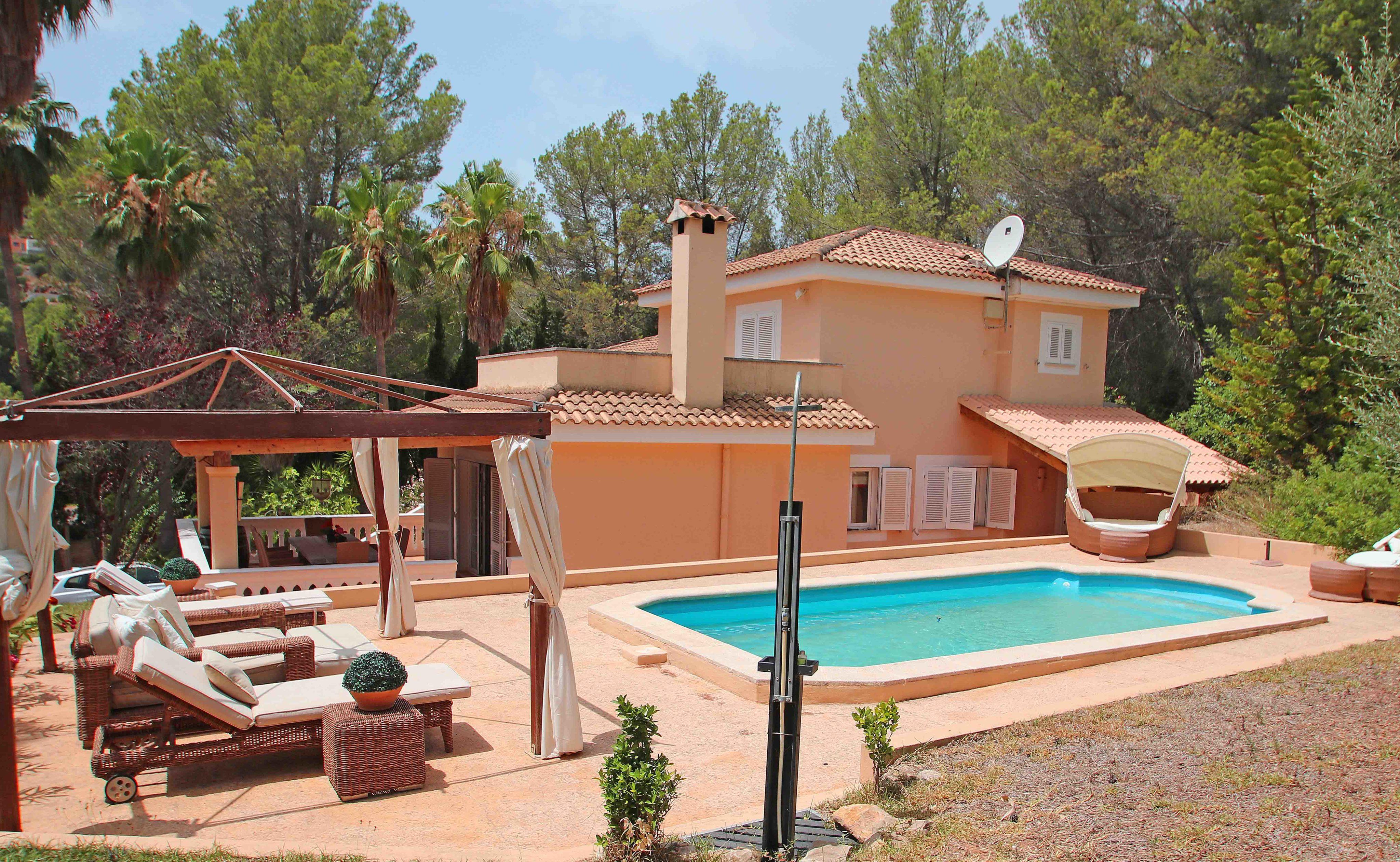 Bonita casa de campo en esporles con piscina new home - Piscinas en mallorca ...