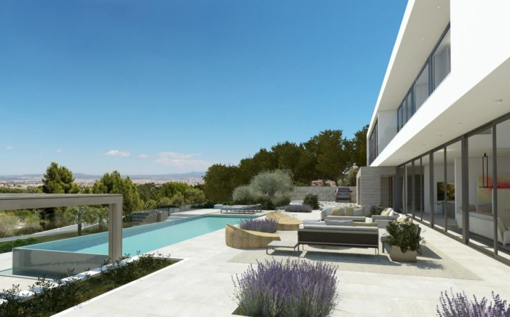 Breathtaking new contemporary style villa Son Vida