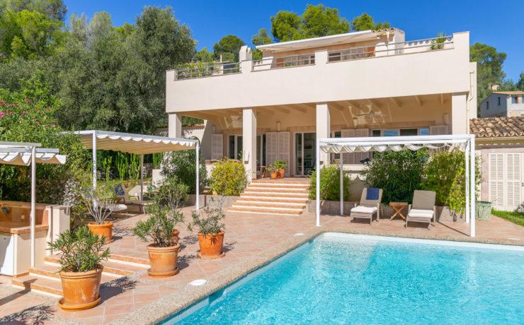 Hochwertige Villa in Palma mit fantastischen Aussichten