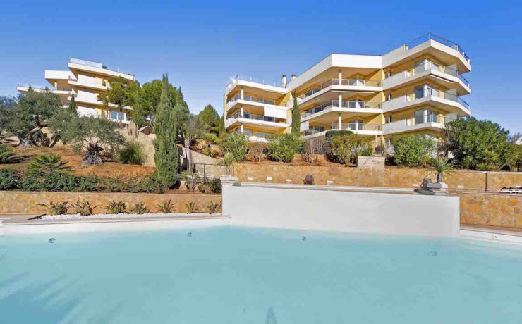 Geräumiges Gartenapartment in Sol de Mallorca