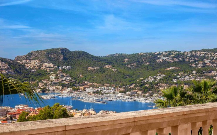 Breathtaking property with beautiful views Port Andratx