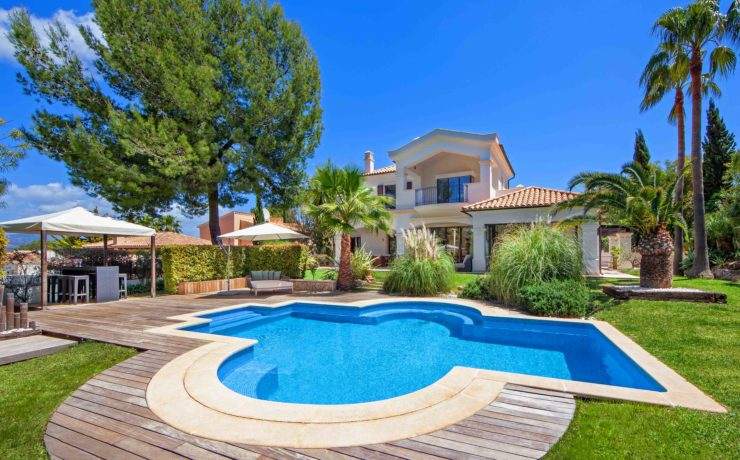 Mediterranean style luxury property Nova Santa Ponsa