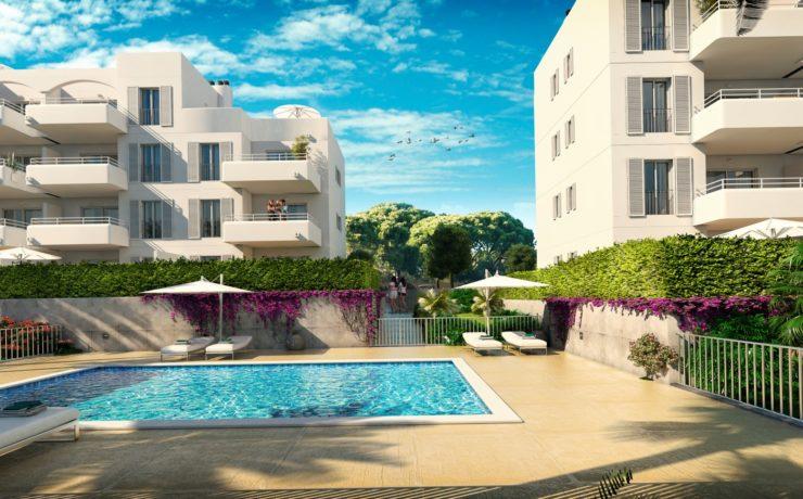 Neubau Penthaus-Wohnung – Erstbezug – Cala D`Or