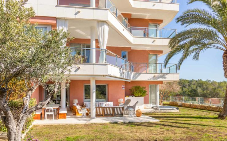 Luxus-Gartenapartment in Sol de Mallorca