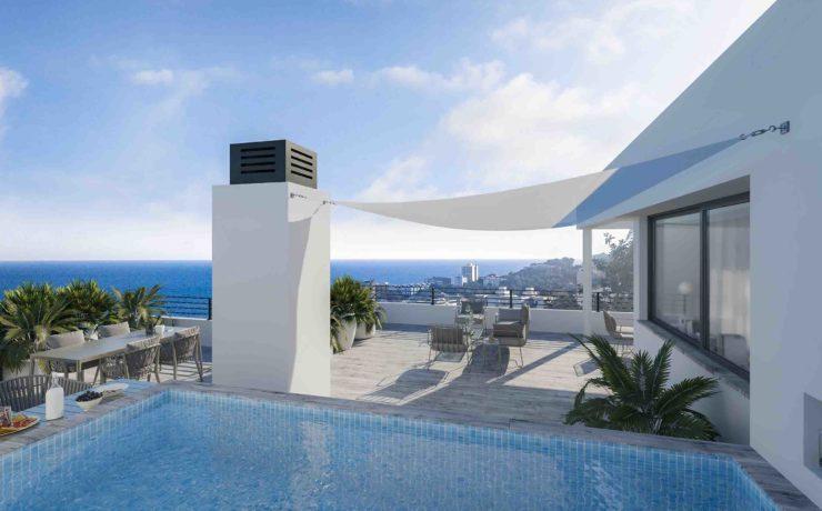 Hanglagegrundstück mit Projekt für 4 Wohnungen Palma