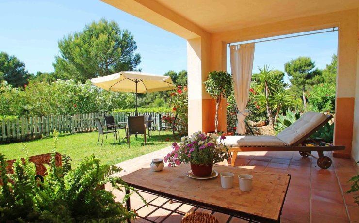 Wohnung in Santa Ponsa in erster Linie zum Golfplatz