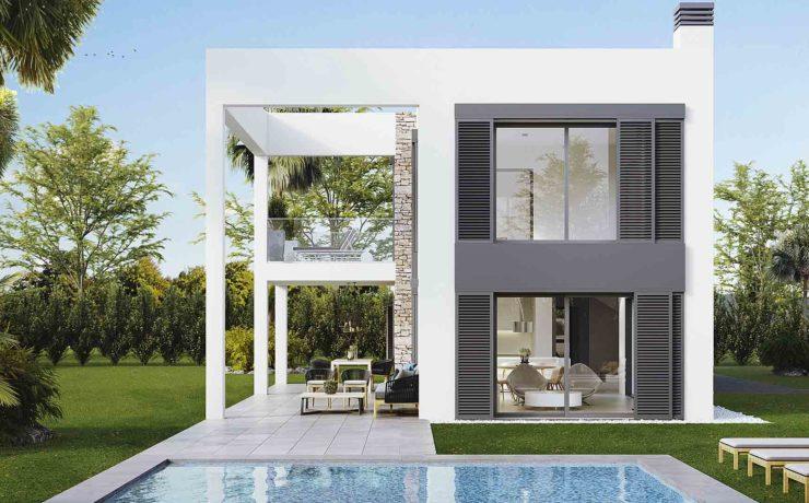 Modern newly built villa Cala Murada