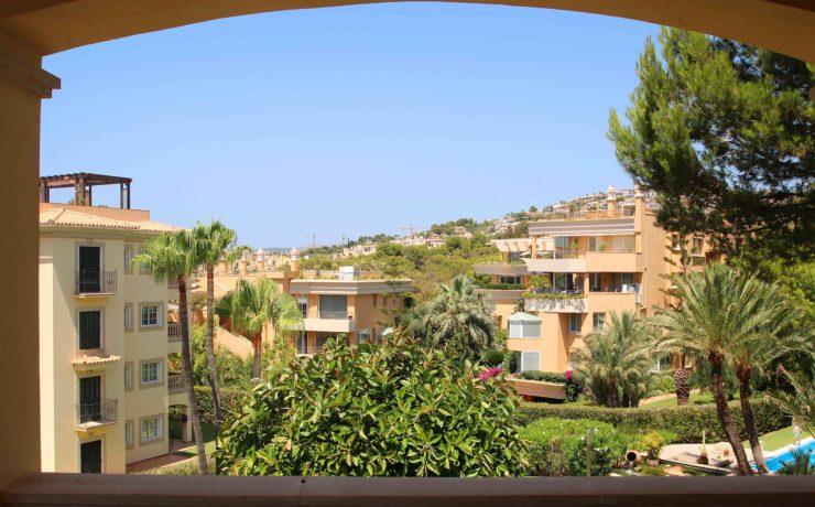 Luxury flat in Santa Ponsa in exclusive development