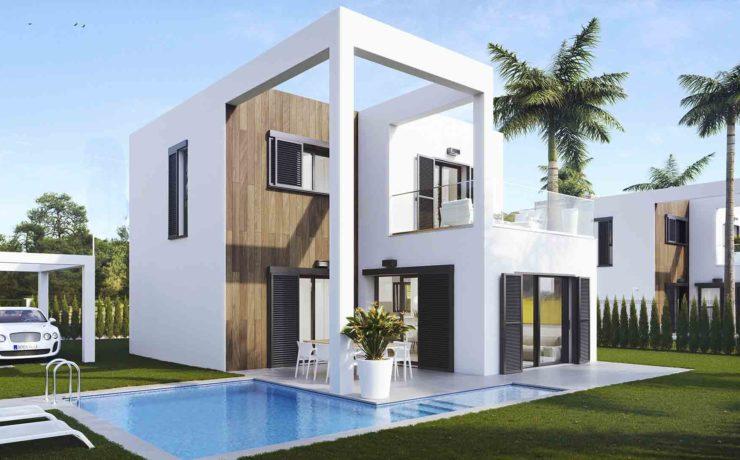 Newly built modern villa Cala Murada