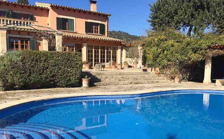 Atemberaubendes Landhaus in Es Capdella