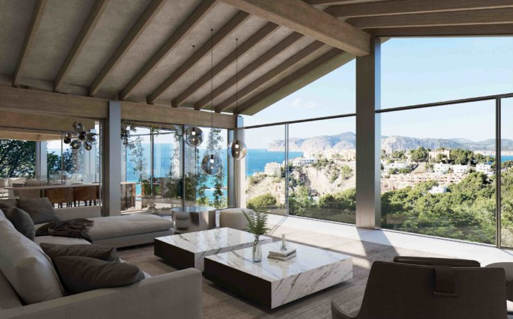 Fabulous project of luxury villa Sant Ponsa Nova