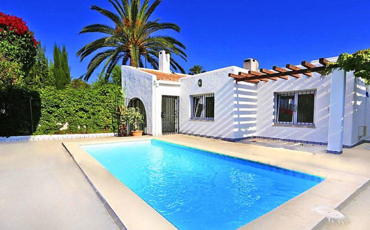 Wonderful Ibiza-style house in Sol de Mallorca