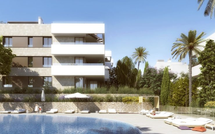Newly built luxury flat in Palma close to the golf