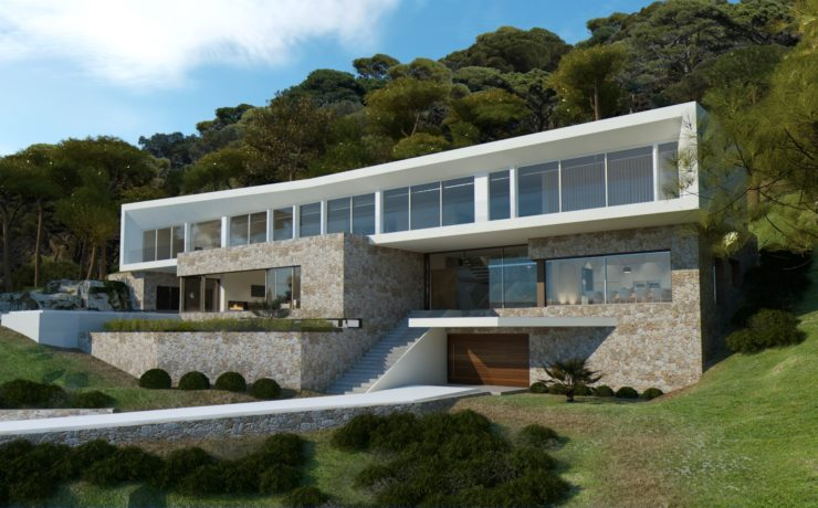Stunning project of exclusive villa in Sol de Mallorca