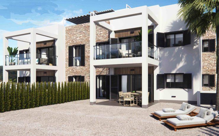 Neubau: Wohnung mit großer Dachterrasse
