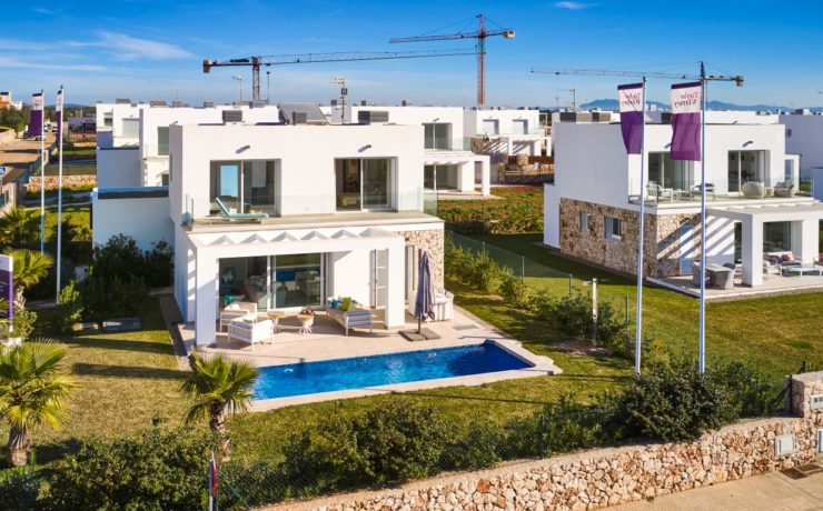 Sa Rapita: Modern newly built villa close to the beach