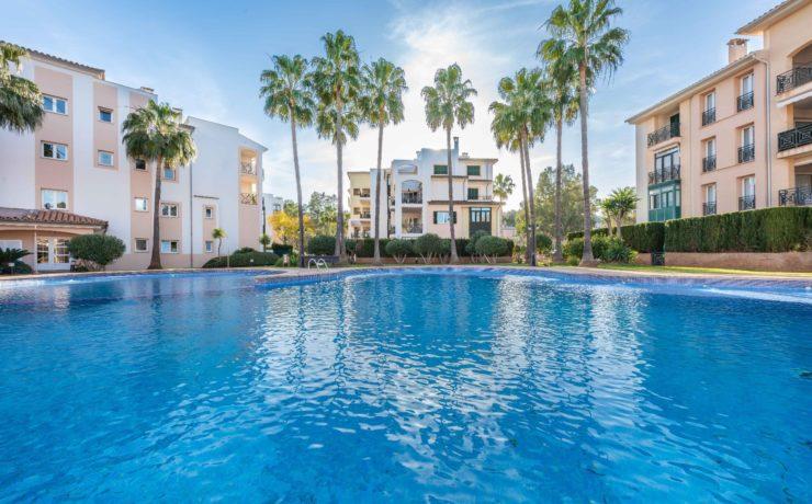 Bright apartment in well-kept residence Santa Ponsa