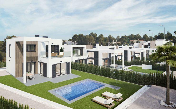 NEUBAU: Villa Erstbezug Cala Murada