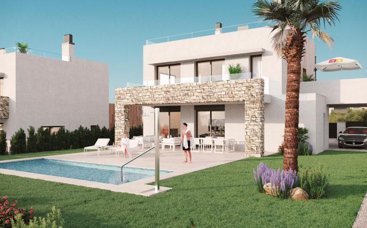Brand new stunning villa in modern style Sa Rapita