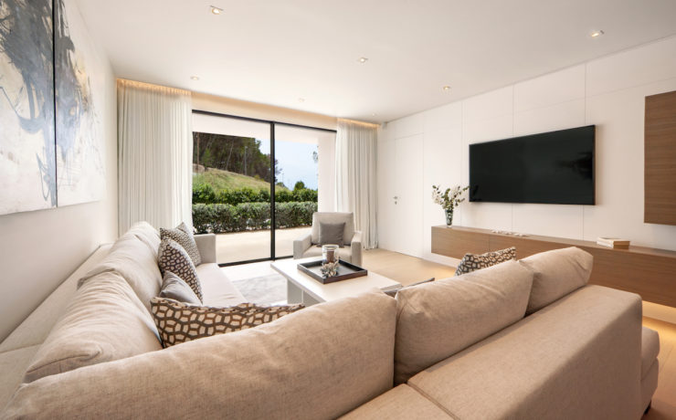 New ground floor apartment in top location Puerto Andratx