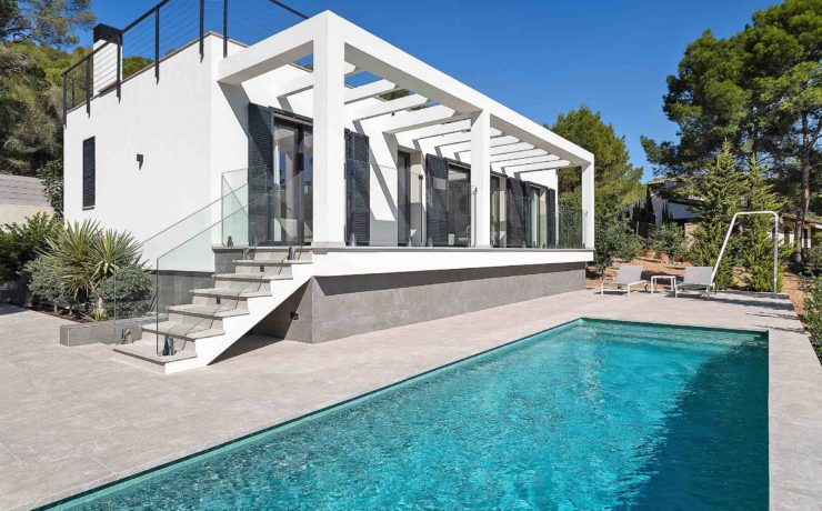 Mallorca long term rent: Modern villa in Camp de Mar