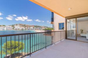 X1 wohnung in erster meereslinie saniert santa ponsa reformed first sea line apartment santa ponsa