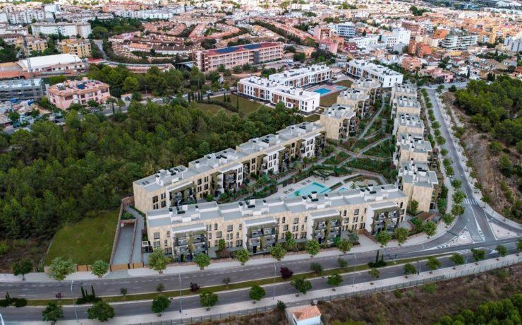 Neue Luxus-Residenz in Palma de Mallorca