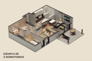 36 LAYOUT 2 BED
