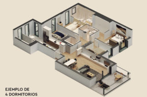 34 LAYOUT 4 BED