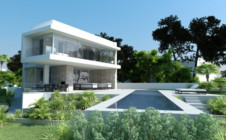 Stunning luxury villa in modern style El Toro