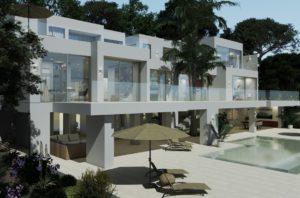 03 cala vinyas luxus villa in erster meereslinie ocean front villa in cala vinyas for ale
