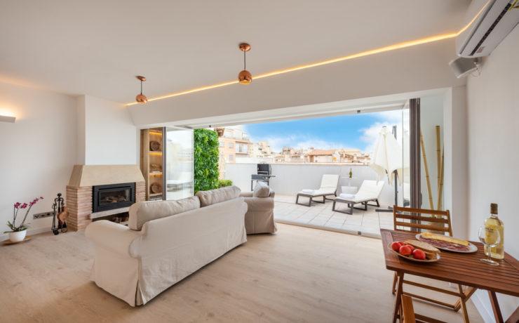 Modernized penthouse in Palma de Mallorca