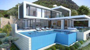02 luxus villen projekt puerto andratx modern villa project puerto andratx chalet de lujo port andratx