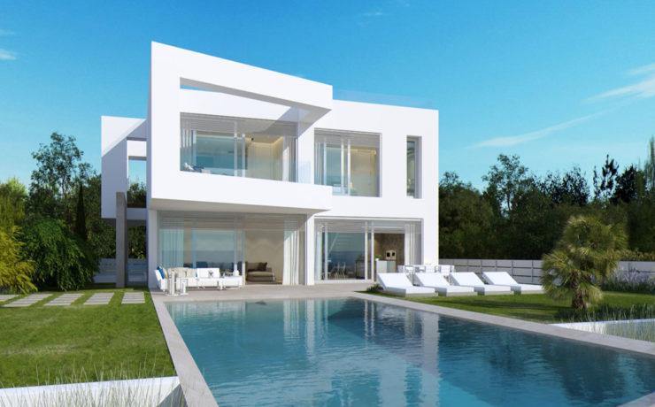 Luxus-Villa in erster Meereslinie El Toro